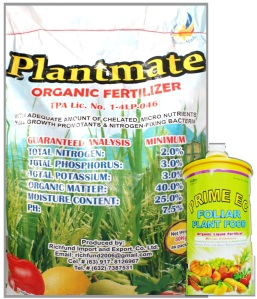 Plantmate & Prime EC Website