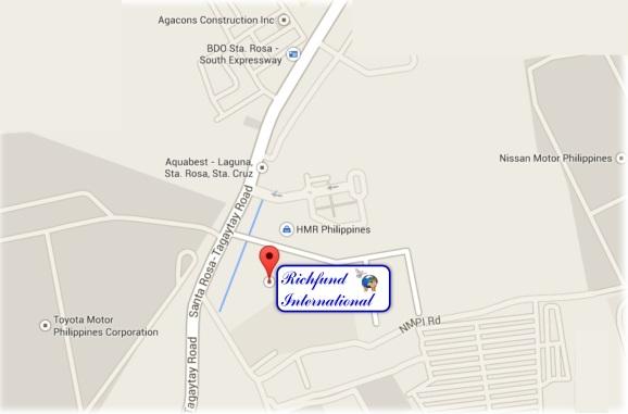 Richfund Maps Laguna